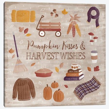 Autumn Enchantment II Canvas Print #WAC7276} by Laura Marshall Art Print