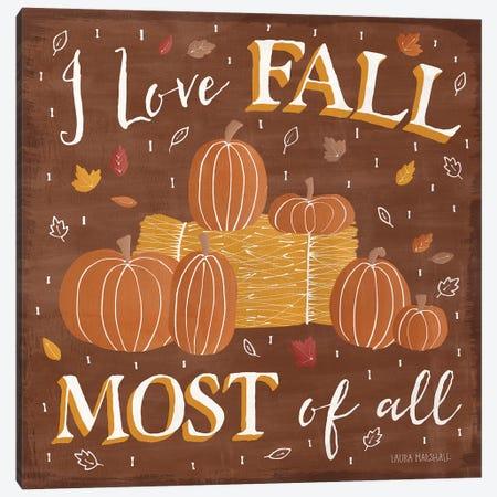 Autumn Enchantment V Canvas Print #WAC7279} by Laura Marshall Canvas Wall Art