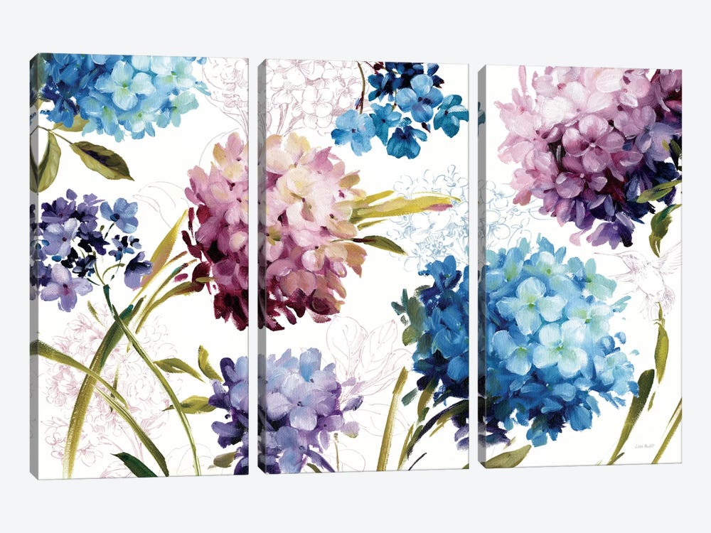 Spring Nectar I Laurie by Lisa Audit 3-piece Canvas Wall Art