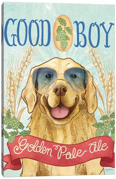 Beer Dogs II Canvas Art Print