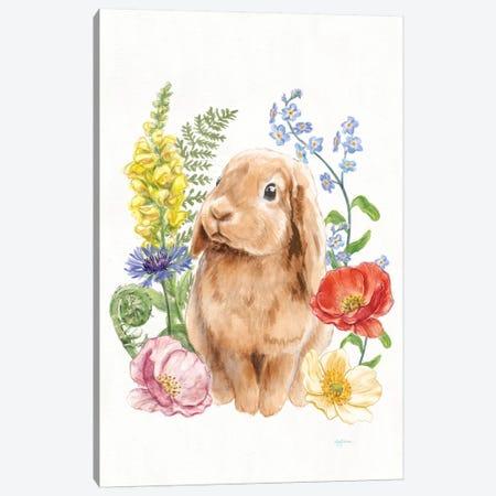 Sunny Bunny I Canvas Print #WAC7291} by Mary Urban Canvas Art