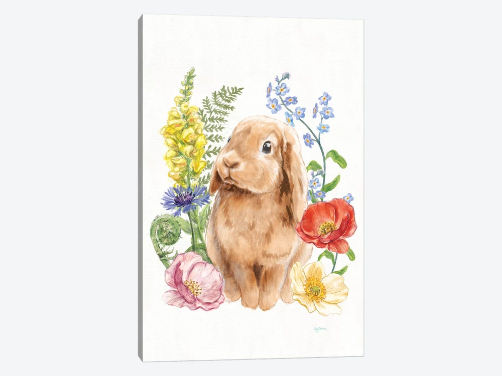 Sunny Bunny I by Mary Urban 1-piece Canvas Print