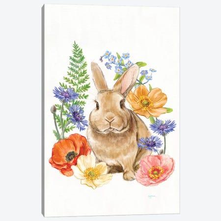 Sunny Bunny II Canvas Print #WAC7292} by Mary Urban Canvas Artwork