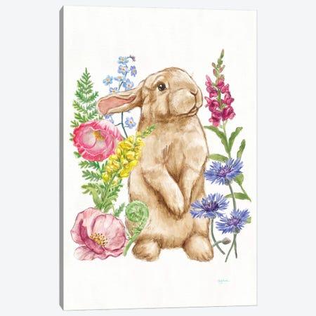 Sunny Bunny III Canvas Print #WAC7293} by Mary Urban Canvas Artwork
