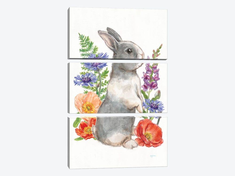Sunny Bunny IV by Mary Urban 3-piece Canvas Art