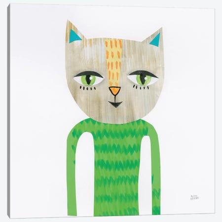 Cool Cats III Canvas Print #WAC7297} by Melissa Averinos Art Print