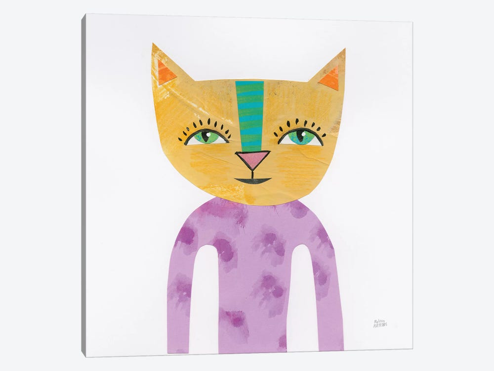 Cool Cats IV by Melissa Averinos 1-piece Canvas Artwork