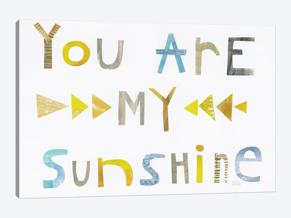 Sweet Sentiments I by Melissa Averinos 1-piece Canvas Wall Art