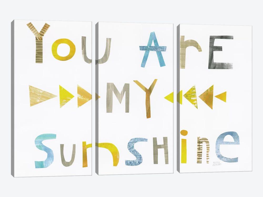 Sweet Sentiments I by Melissa Averinos 3-piece Canvas Wall Art