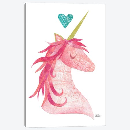 Unicorn Magic I Canvas Print #WAC7306} by Melissa Averinos Canvas Print