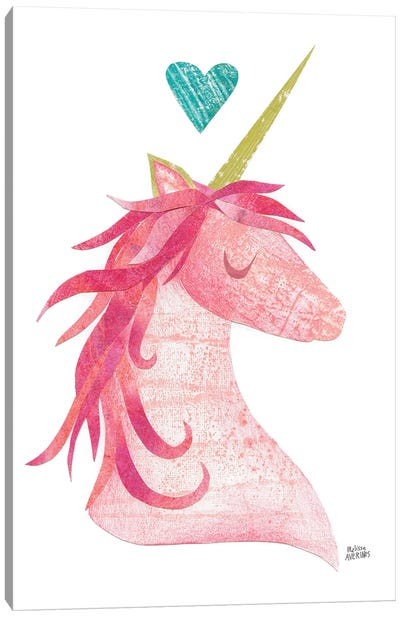 Unicorn Magic I Canvas Art Print