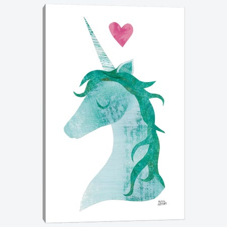 Unicorn Magic II Canvas Print #WAC7307} by Melissa Averinos Canvas Art Print