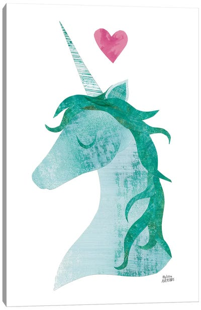 Unicorn Magic II Canvas Art Print