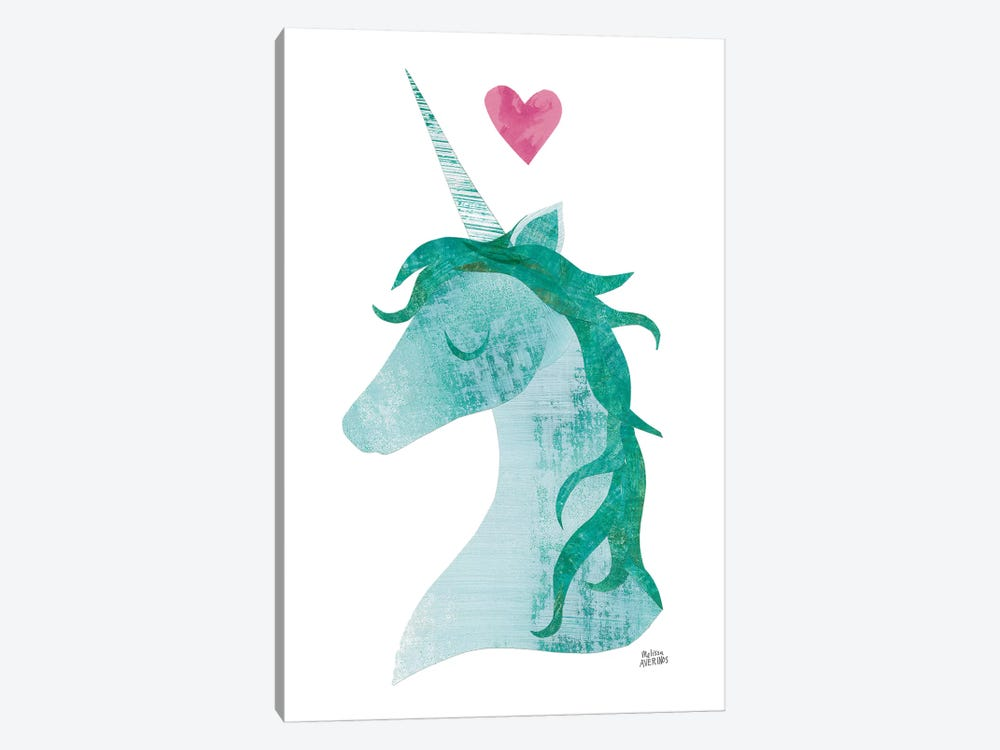 Unicorn Magic II by Melissa Averinos 1-piece Canvas Art Print