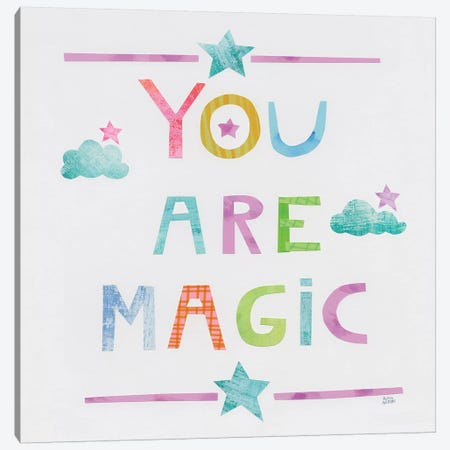 Unicorn Magic V Canvas Print #WAC7310} by Melissa Averinos Canvas Art Print