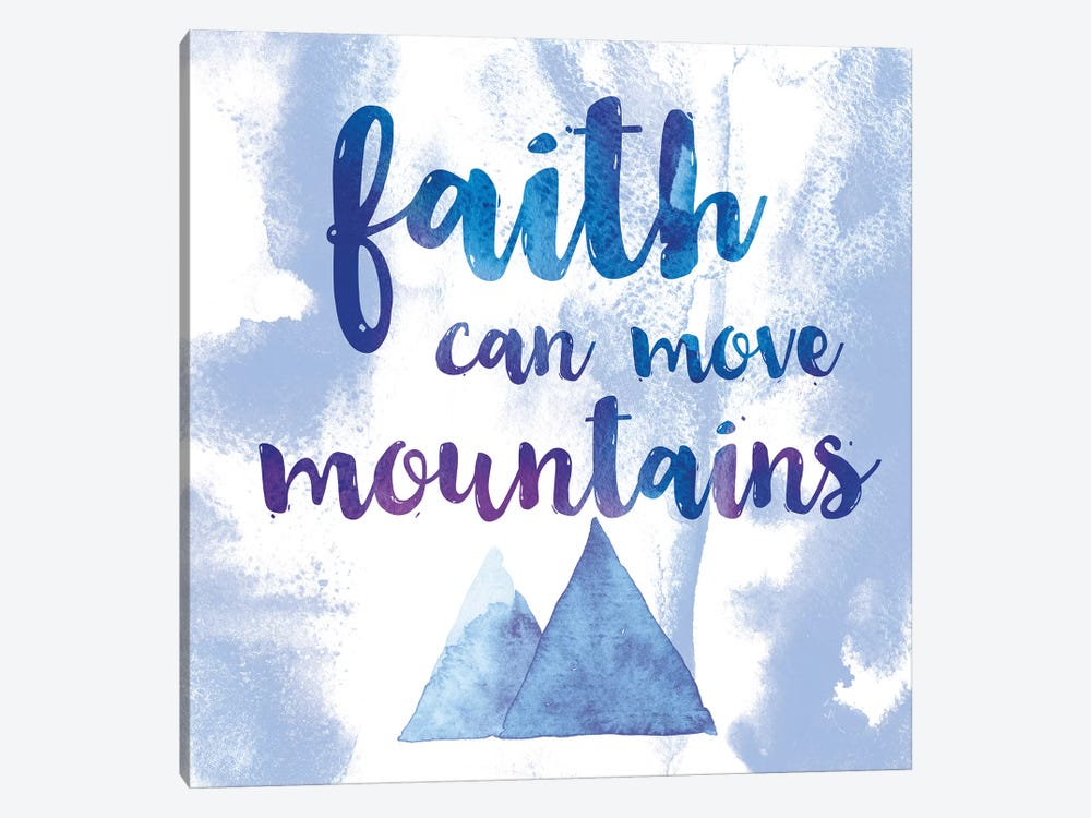 Words Of Faith II by Sarah Adams 1-piece Canvas Art