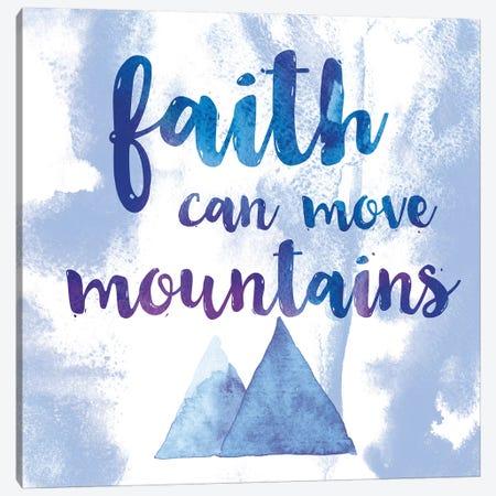 Words Of Faith II Canvas Print #WAC7324} by Sarah Adams Canvas Print