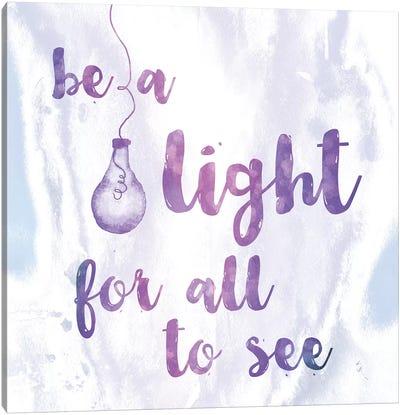 Words Of Faith IV Canvas Art Print