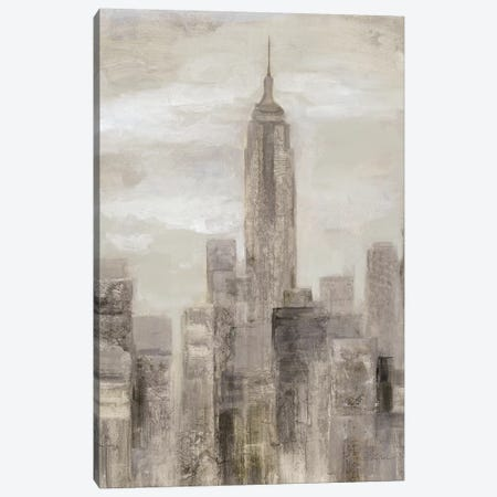 City Blocks In Greige II Canvas Print #WAC7330} by Silvia Vassileva Art Print