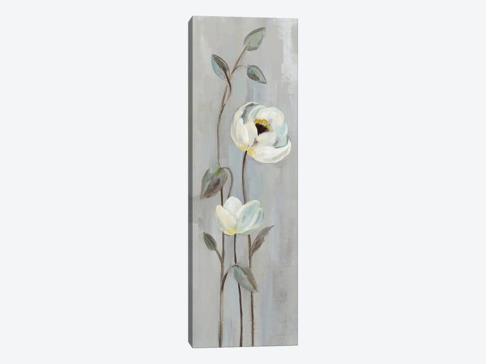 Neutral Branches On Gray I by Silvia Vassileva 1-piece Canvas Print