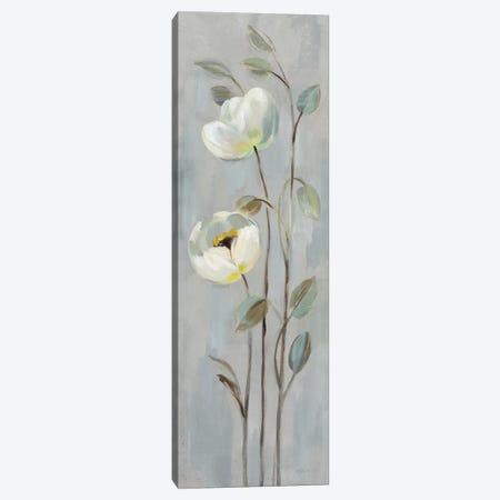 Neutral Branches On Gray II Canvas Print #WAC7335} by Silvia Vassileva Canvas Art