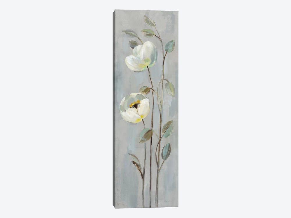 Neutral Branches On Gray II by Silvia Vassileva 1-piece Canvas Art