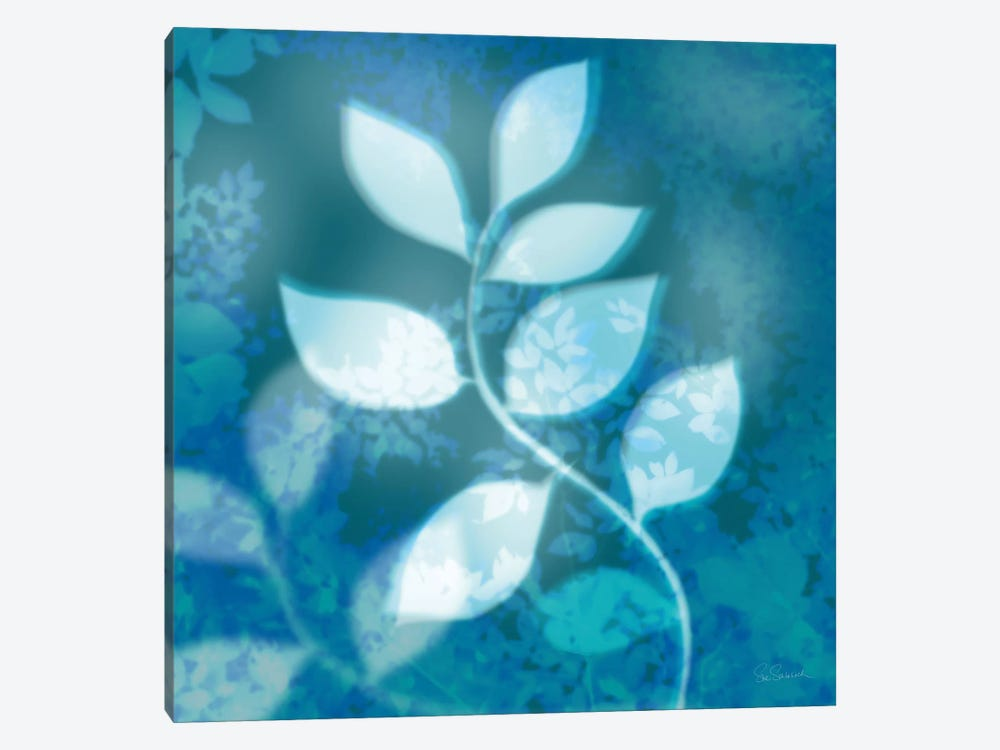 Ink Leaves II by Sue Schlabach 1-piece Canvas Wall Art