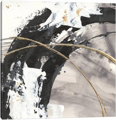 Gilded Arcs II Canvas Art Print