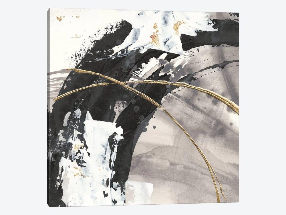 Gilded Arcs II by Chris Paschke 1-piece Canvas Wall Art