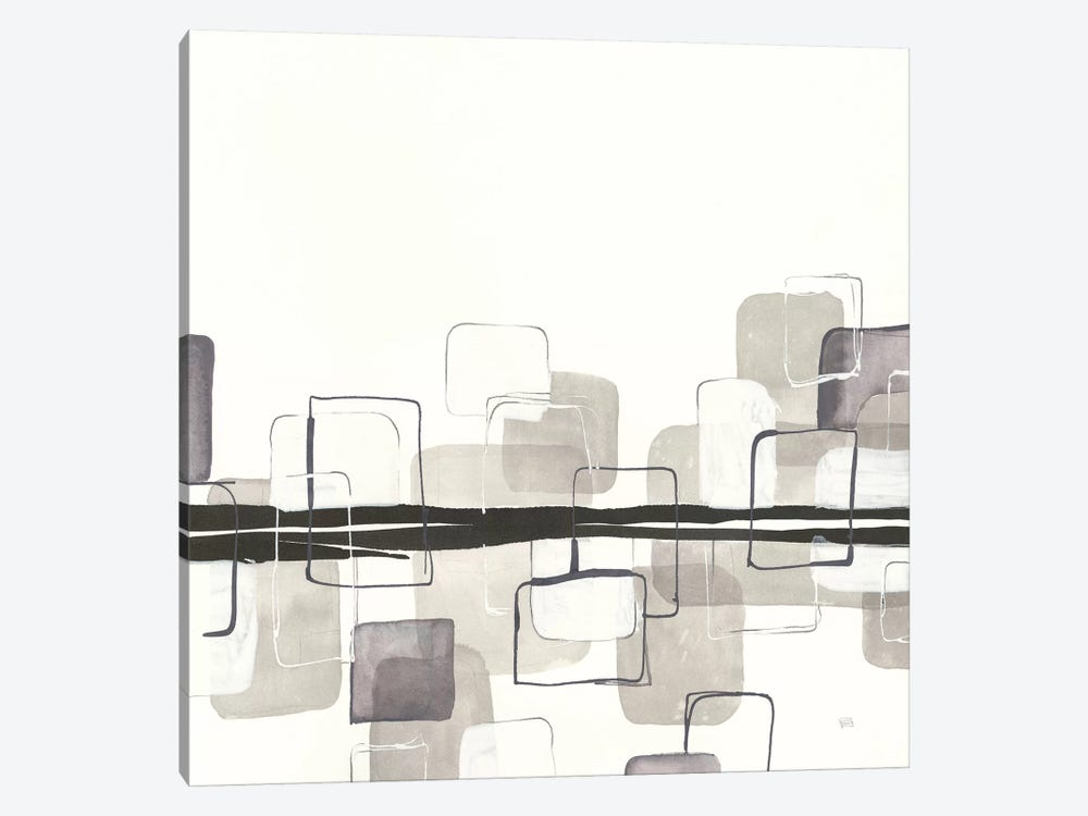 Placid Boxes II by Chris Paschke 1-piece Canvas Art
