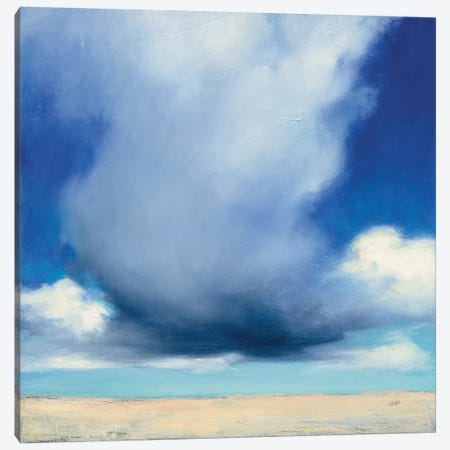 Beach Clouds I Canvas Print #WAC7405} by Julia Purinton Canvas Artwork