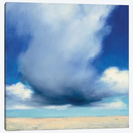 Beach Clouds I Canvas Print #WAC7405} by Julia Purinton Canvas Artwork