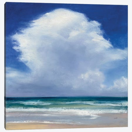 Beach Clouds II Canvas Print #WAC7406} by Julia Purinton Canvas Artwork