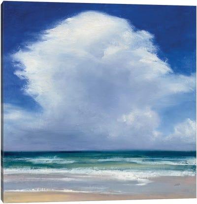 Beach Clouds II Canvas Art Print