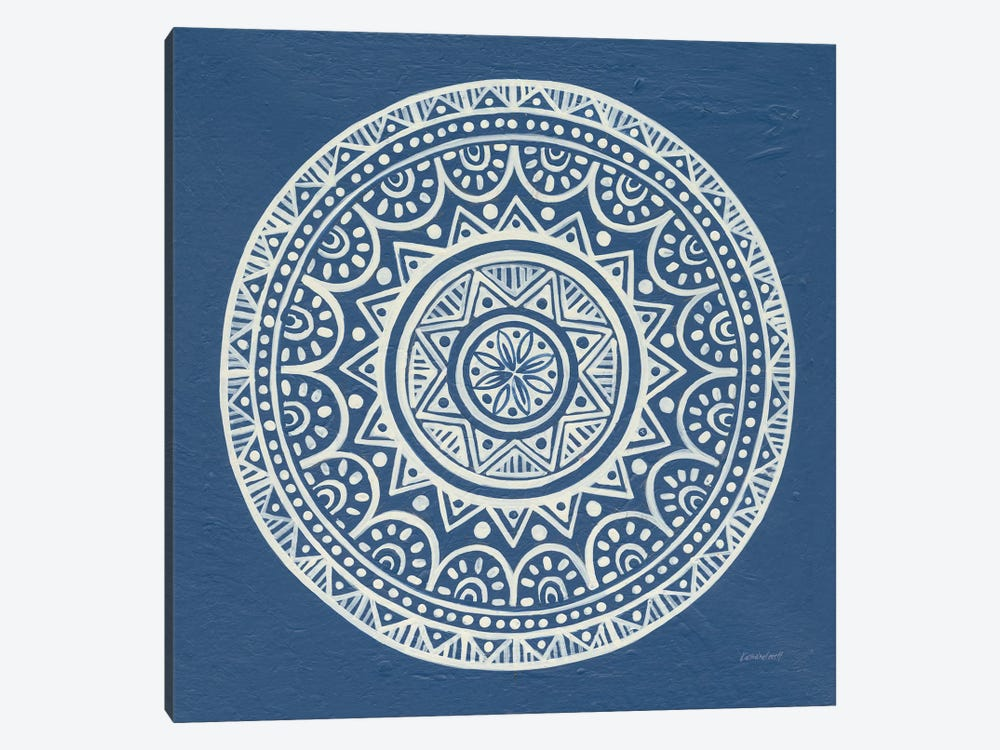 Circle Designs II by Kathrine Lovell 1-piece Canvas Artwork