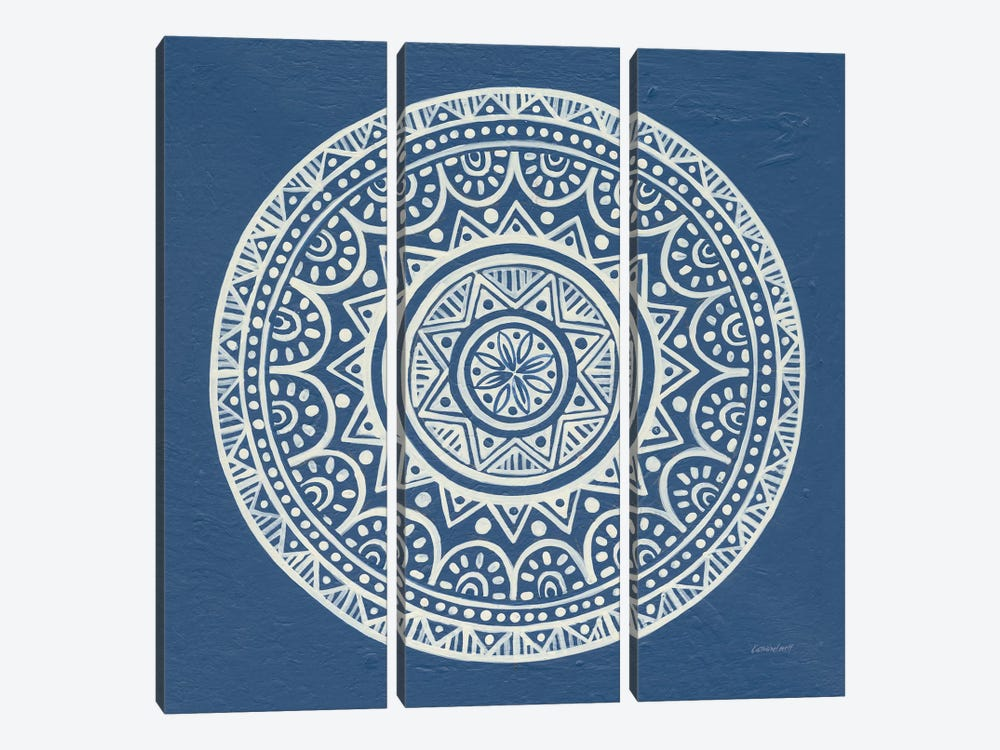 Circle Designs II by Kathrine Lovell 3-piece Canvas Artwork