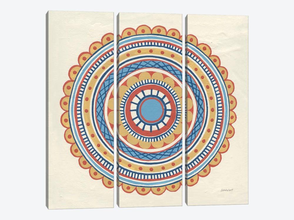 Solara IV by Kathrine Lovell 3-piece Canvas Art Print