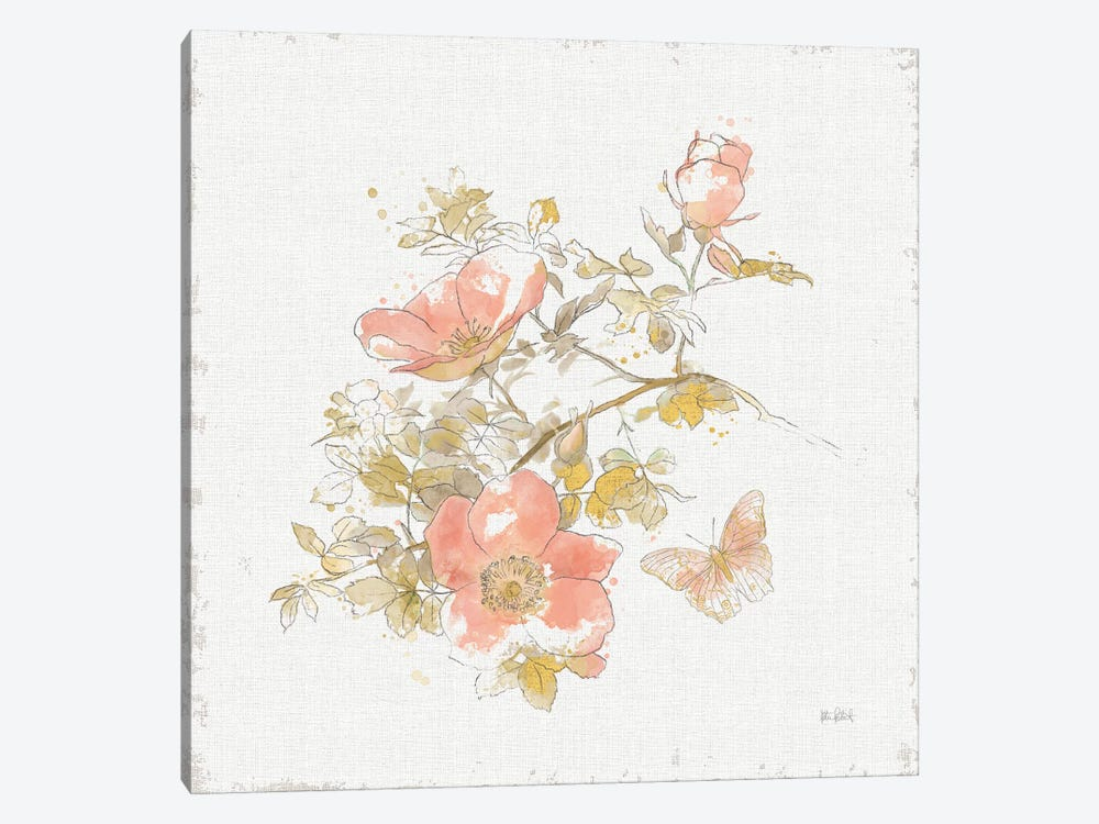 Watery Blooms IV by Katie Pertiet 1-piece Art Print