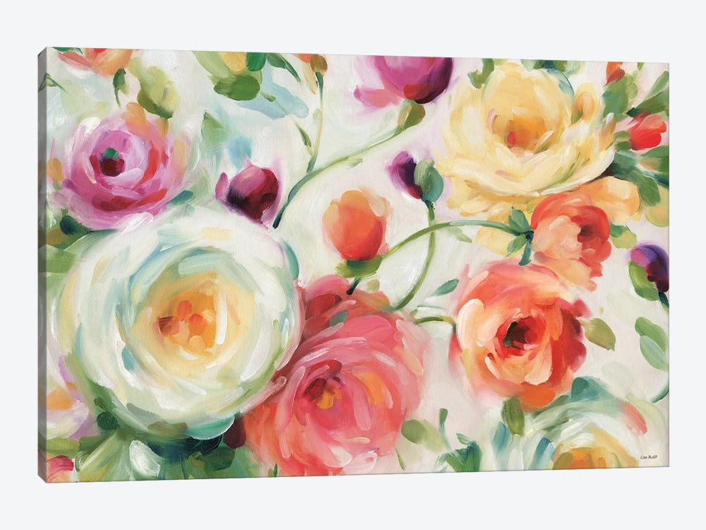 Florabundance I by Lisa Audit 1-piece Art Print