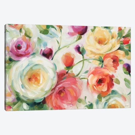 Florabundance I Canvas Print #WAC7424} by Lisa Audit Canvas Art