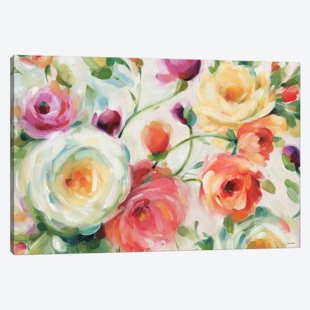 Florabundance I Canvas Print #WAC7424} by Lisa Audit Canvas Art