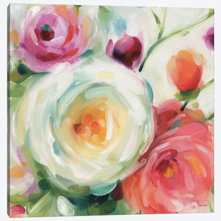 Florabundance II Canvas Print #WAC7425} by Lisa Audit Canvas Wall Art