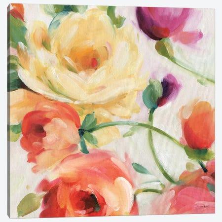 Florabundance III Canvas Print #WAC7426} by Lisa Audit Canvas Artwork