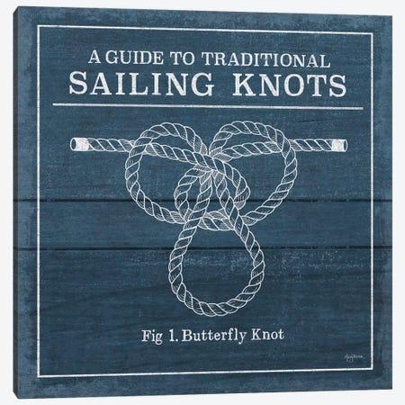 Vintage Sailing Knots II Canvas Print #WAC7430} by Mary Urban Canvas Artwork
