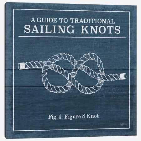 Vintage Sailing Knots IV Canvas Print #WAC7432} by Mary Urban Canvas Artwork
