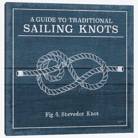 Vintage Sailing Knots VI Canvas Print #WAC7434} by Mary Urban Canvas Print