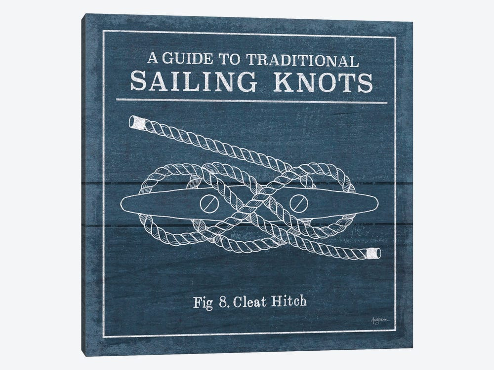 Vintage Sailing Knots VII by Mary Urban 1-piece Canvas Print