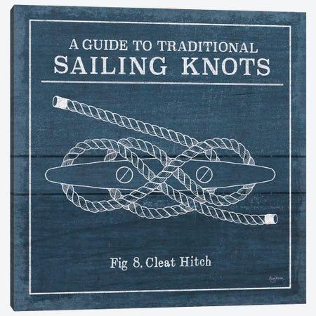 Vintage Sailing Knots VII Canvas Print #WAC7435} by Mary Urban Art Print