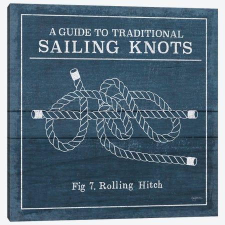 Vintage Sailing Knots VIII Canvas Print #WAC7436} by Mary Urban Art Print