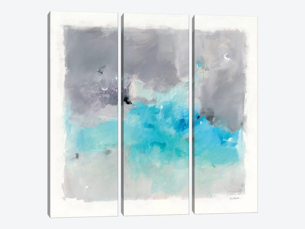 Spring Chase by Mike Schick 3-piece Canvas Wall Art
